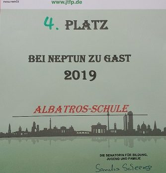 "Schwimmwettkampf  ""Bei Neptun zu Gast"""