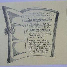 """Der """"Tag der offenen Tür"""" am 27.03.2020 fällt aus!"""