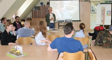 UK Cafe am 25. September um 15.00 Uhr im Lehrerzimmer