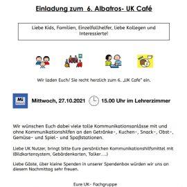 Einladung zum 6. Albatros- UK Cafe